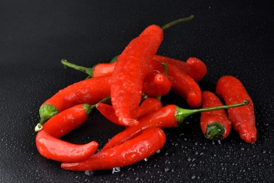 peperoncino di cayenna rosso