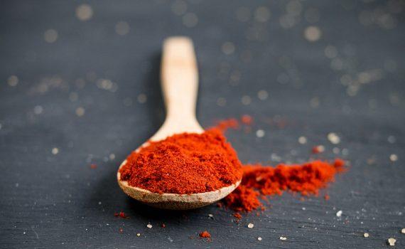 polvere di peperoncino rosso