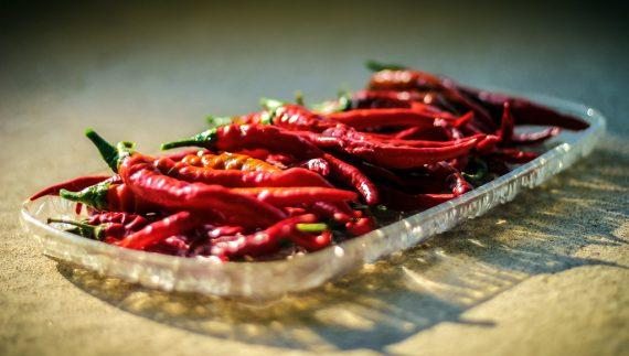 vaschetta peperoncini cayenna